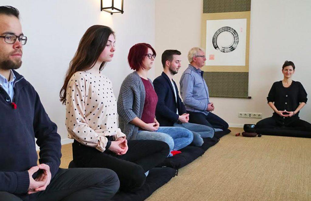 iPhone mediteren
