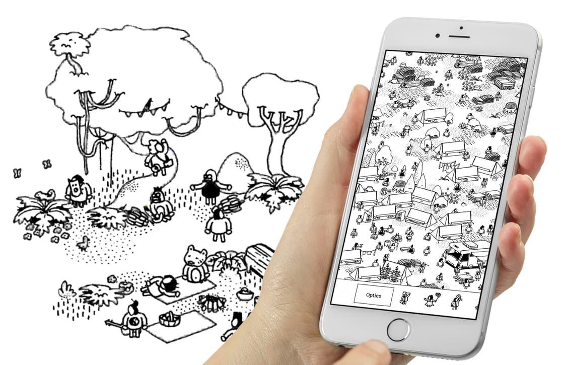 Hidden Folks: Nederlandse game brengt zoekplaatjes tot leven op iOS