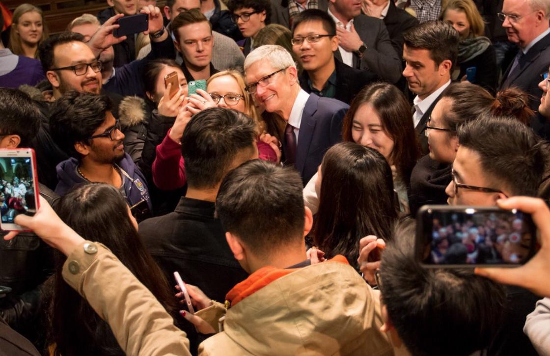 Tim Cook wil morele bijdrage leveren aan landen waar Apple zakendoet