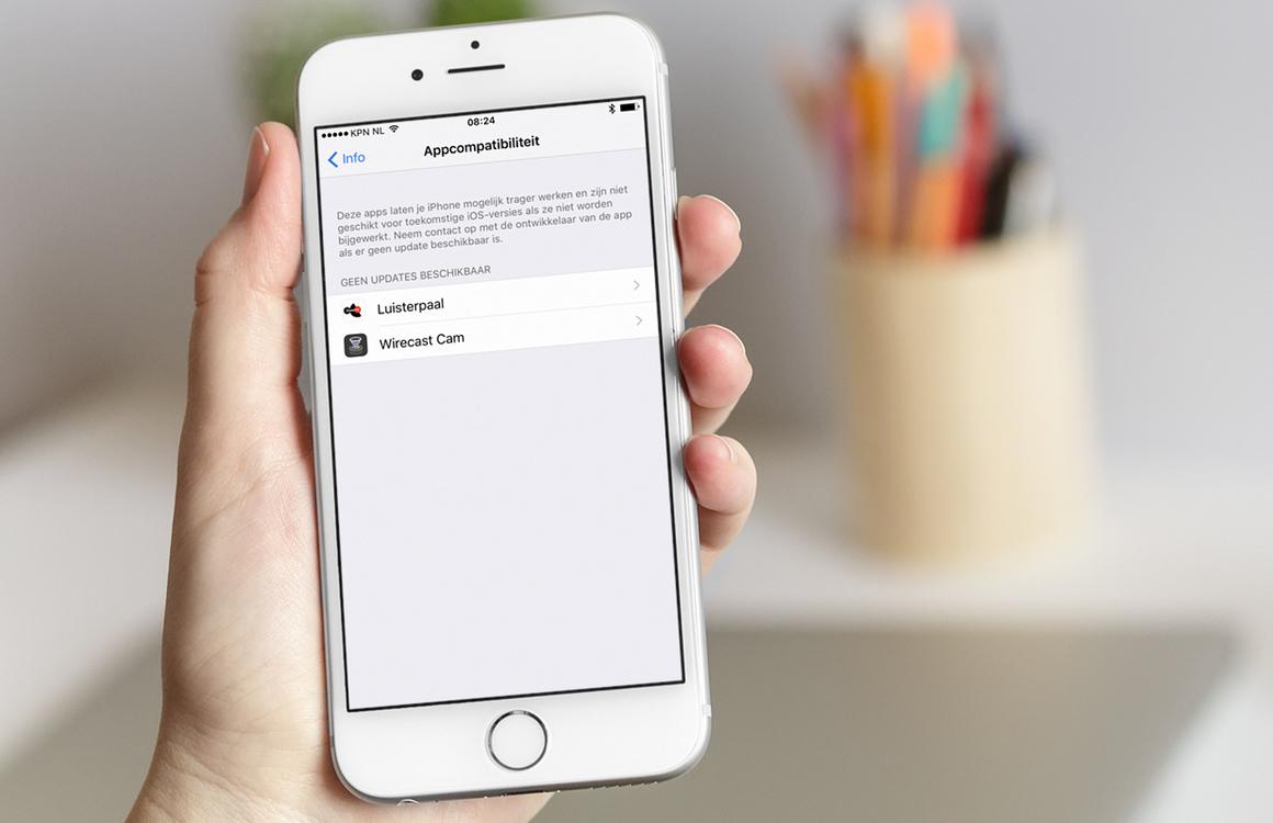 Zo laat iOS 10.3 zien welke apps vanaf iOS 11 niet meer werken