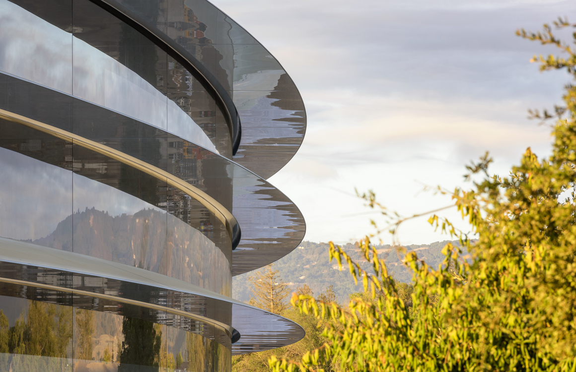 Apple doopt Apple Campus 2 om tot Apple Park, met Steve Jobs Theater