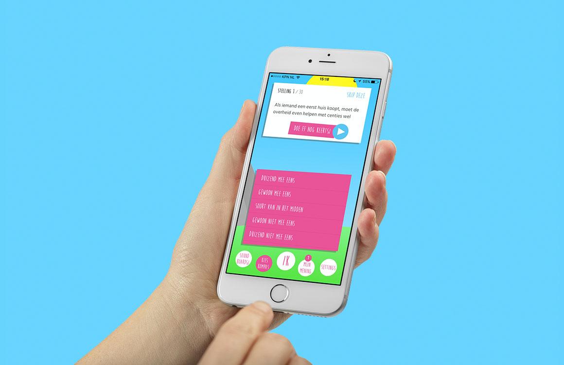 BOOS Polertiek-app met Kieskompassie nu beschikbaar