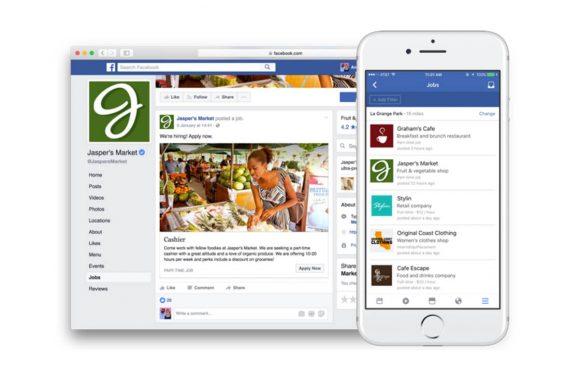 Facebook begint met uitrol van LinkedIn-achtige opties