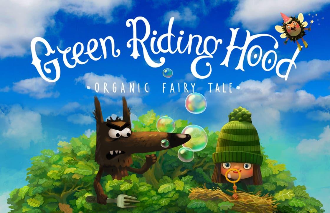 Interactief kinderboek Green Riding Hood is Apples gratis App van de Week