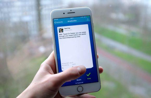 Verwijder oude tweets met deze Tinder-achtige app