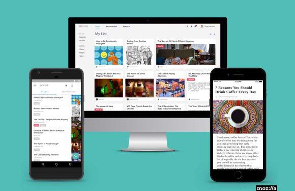 Later lezen-app Pocket overgenomen door Firefox-maker Mozilla