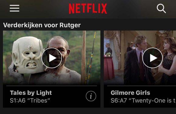 Tip: Zo krijg je films en series weg bij 'Verderkijken' op Netflix