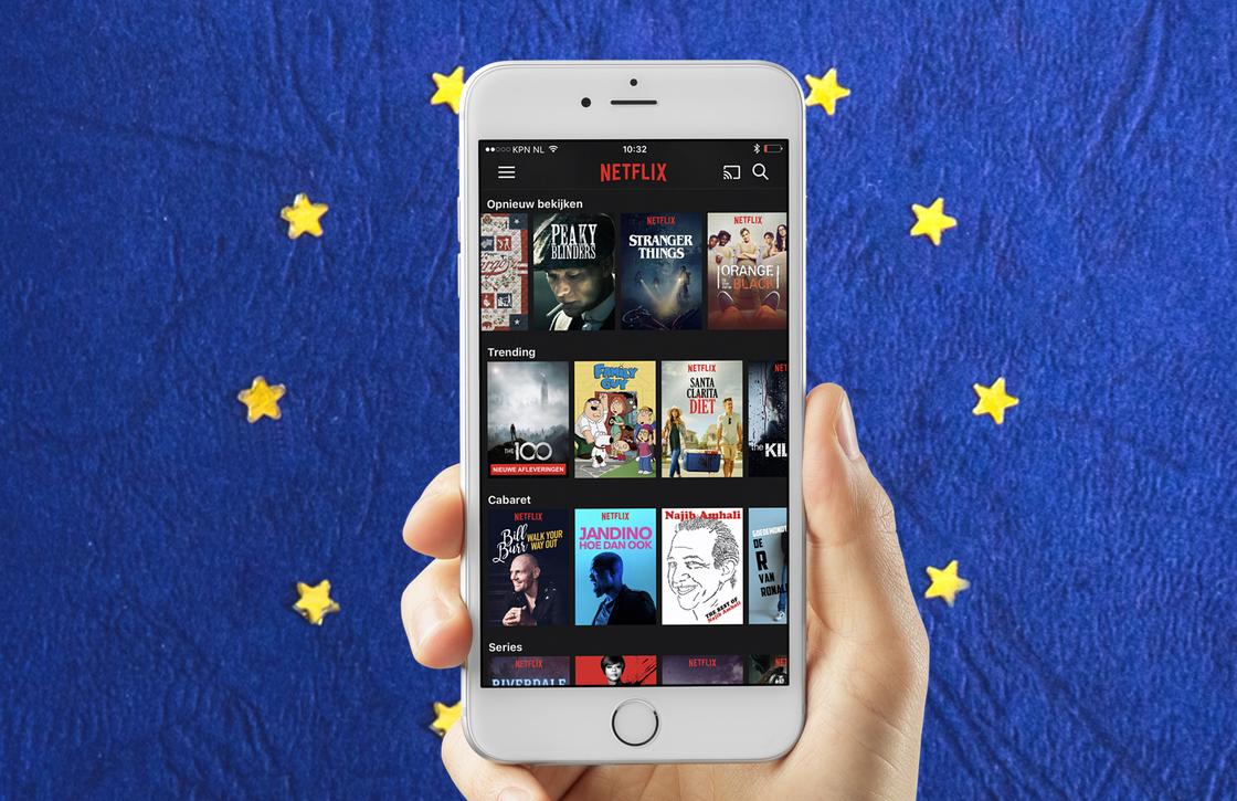 Aanbod streamingdiensten vanaf 2018 in heel Europa gelijk