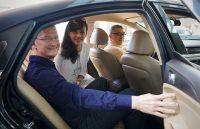 Door Apple ondersteund bedrijf onderzoekt zelfrijdende auto's in Cupertino