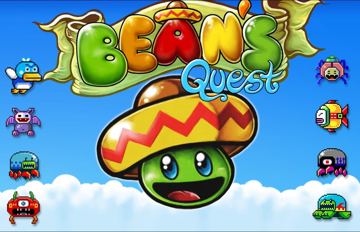 Spring met een Mexicaanse boon in Bean's Quest, de gratis App van de Week