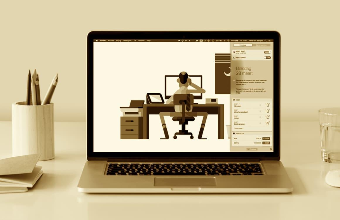 Zo activeer je Night Shift op de Mac en pas je de instellingen aan
