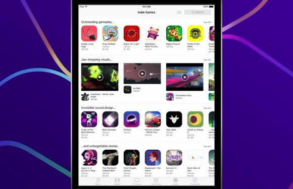 App Store plaatst indiegames permanent in het zonnetje