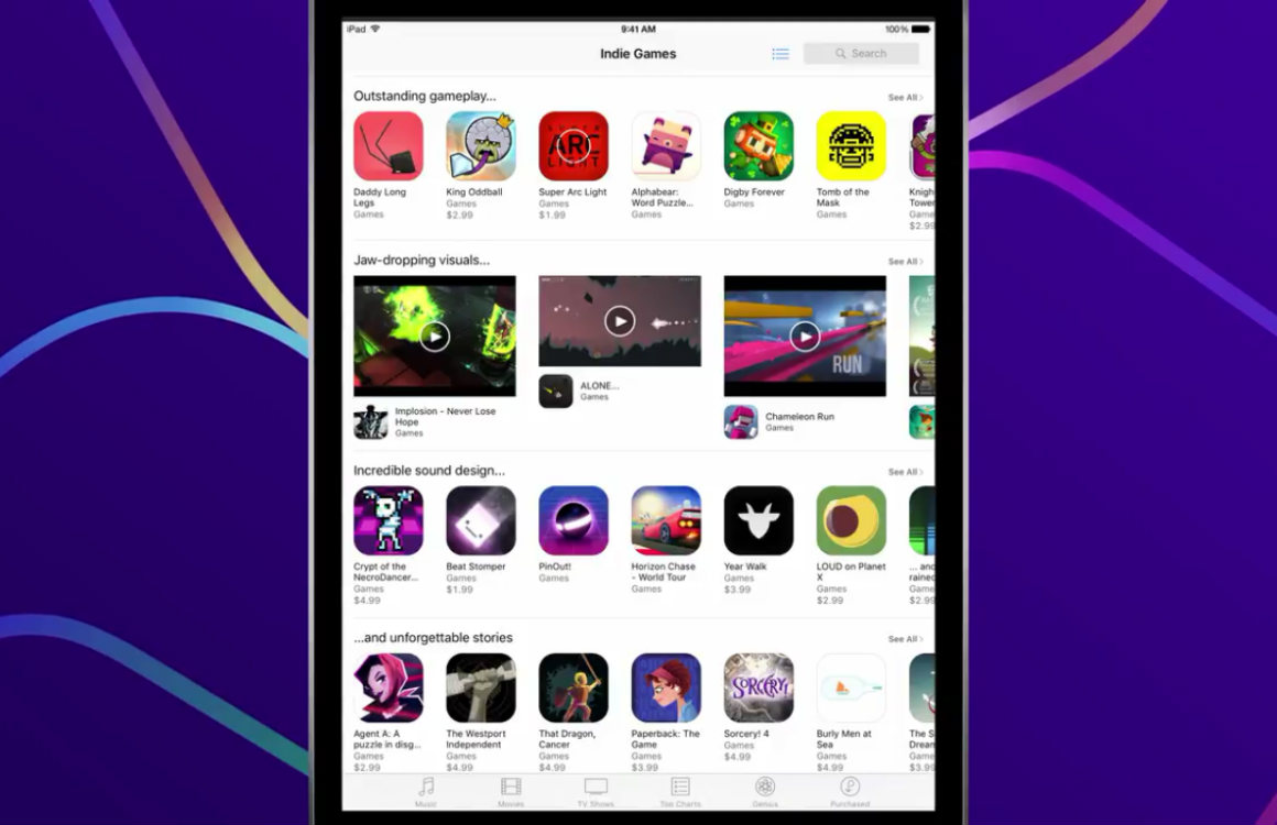 app store indiegames