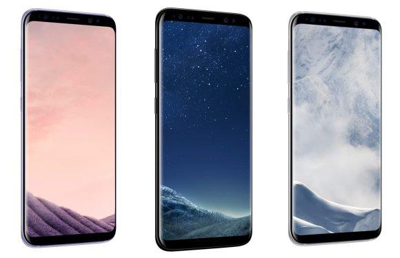 Galaxy S8 drie kleuren