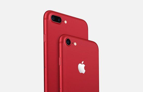 iPhone 7 RED en iPhone 7 Plus RED verkoop gestart in Nederland