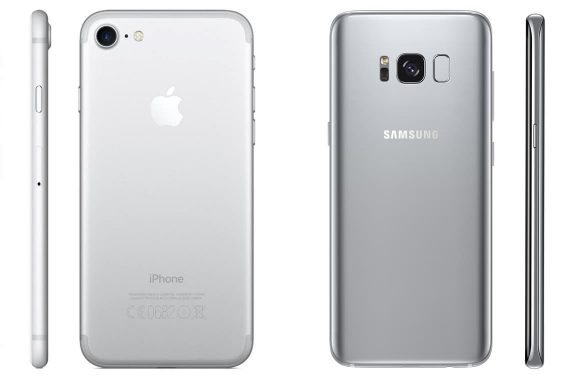 iPhone 7 vs Galaxy S8