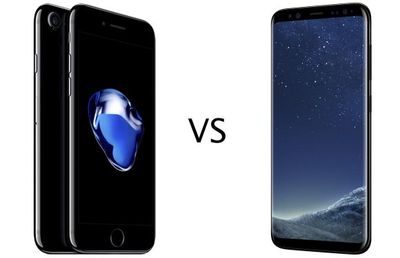 iPhone 7 vs Galaxy S8: specs, camera, design, accu en meer vergeleken