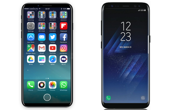 iPhone 8 vs Galaxy S8