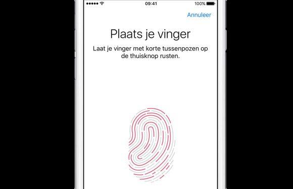 'Touch ID-sensor in scherm bottleneck voor iPhone 8-productie'
