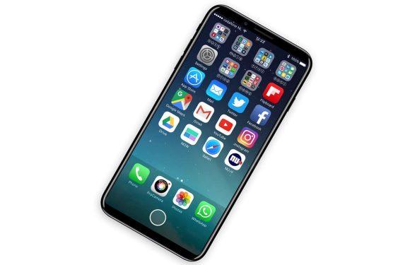 'iPhone 8 krijgt plat scherm, ondanks geruchten over gebogen OLED'