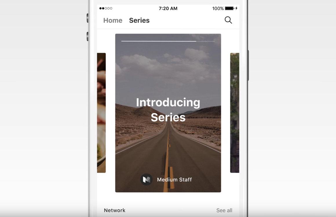 Blogplatform Medium lanceert Snapchat-achtige verhaalfunctie