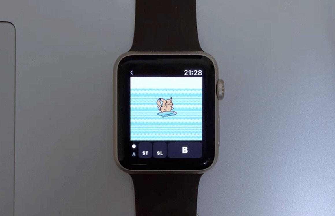 Ontwikkelaar krijgt Pokémon Yellow aan de praat op Apple Watch