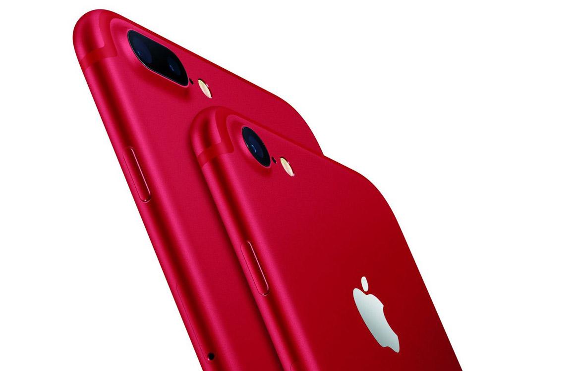 Apple presenteert gloednieuwe rode iPhone 7 en iPhone 7 Plus