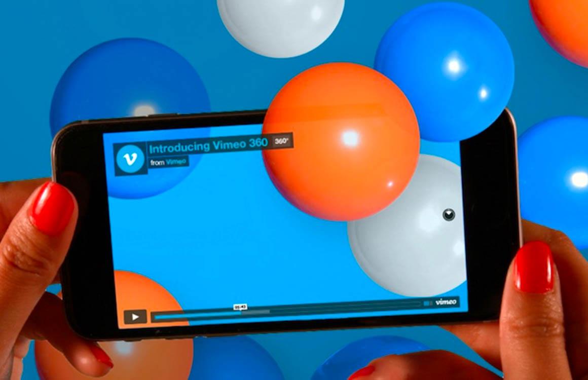 Vimeo kondigt ondersteuning voor 360-gradenvideo's aan