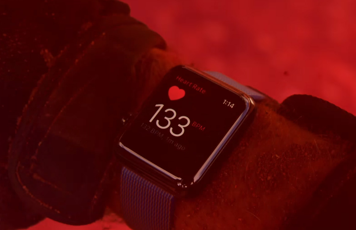 Apple Watch is in staat om slaapapneu en hoge bloeddruk te herkennen