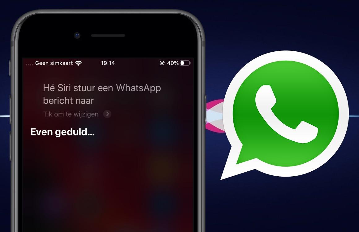 WhatsApp gebruiken met Siri: berichten voorlezen, reageren en bellen