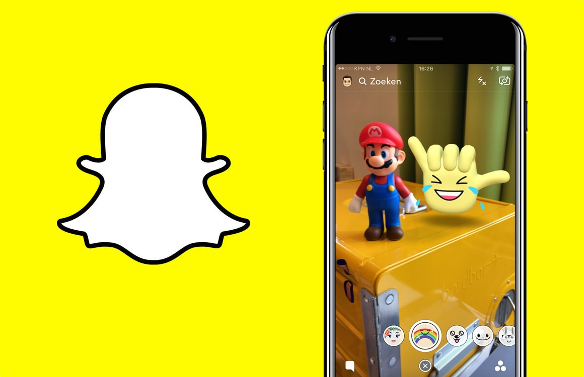 Zo werken de nieuwe augmented reality Snapchat World Lenses