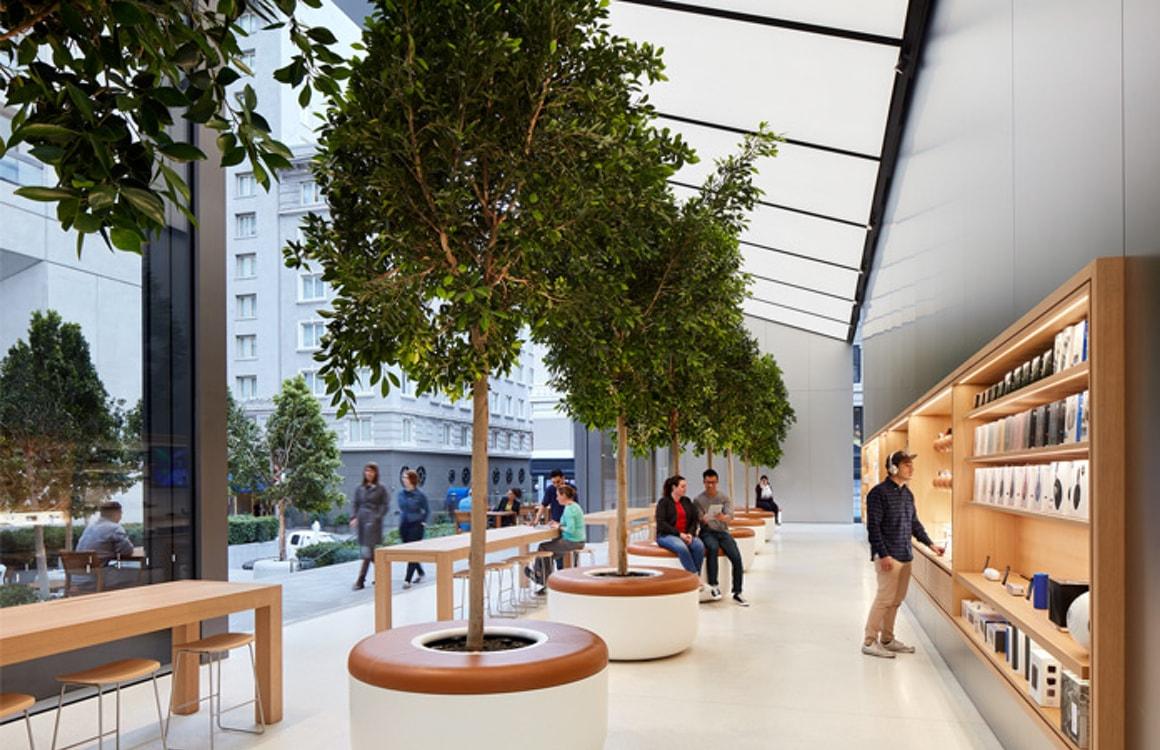 Apple vernieuwt Apple Stores met Genius Grove, vergaderruimten en meer