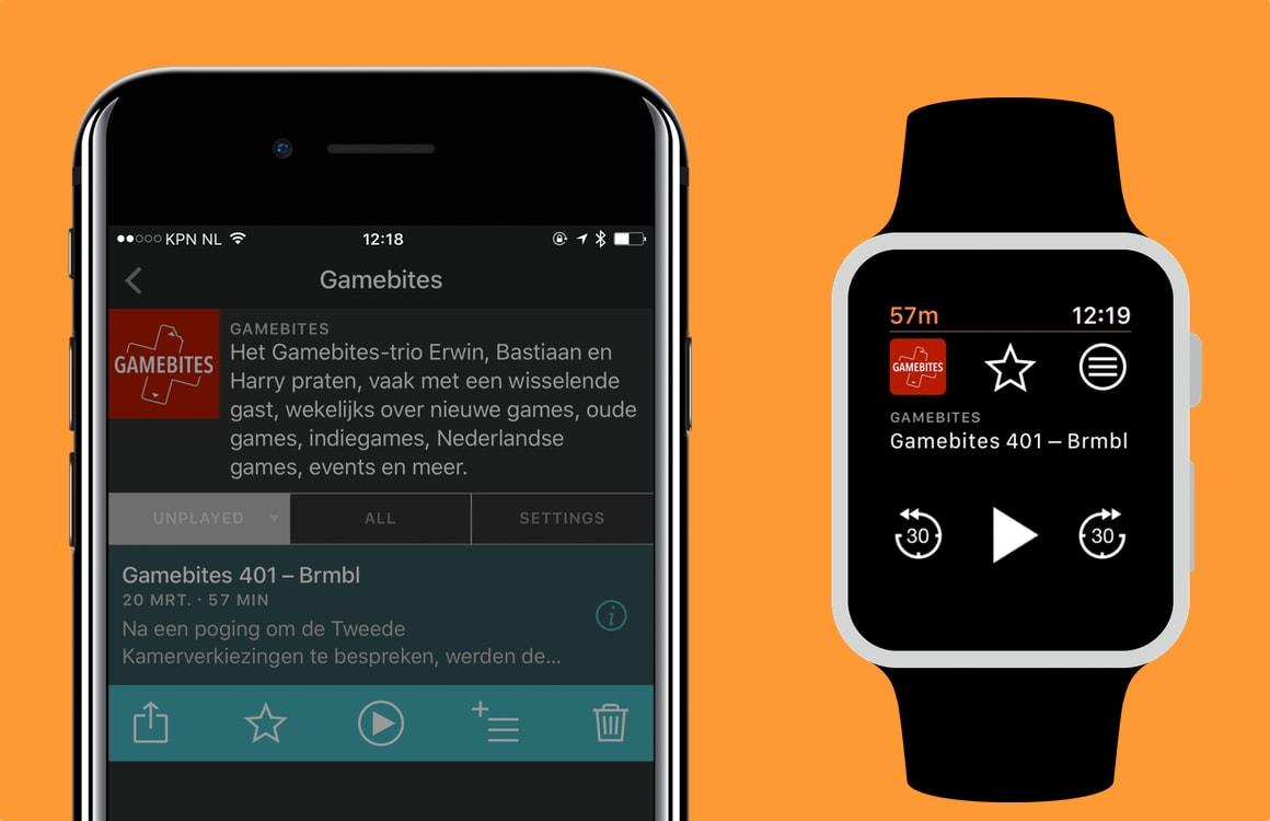 Een podcast luisteren via je Apple Watch-speaker: zo doe je dat