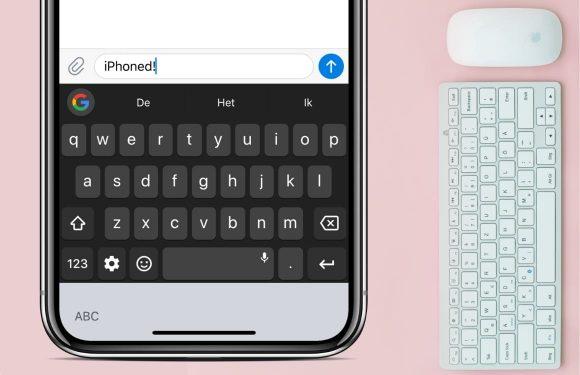 dit zijn de 4 beste toetsenbord apps voor iphone en ipad. Black Bedroom Furniture Sets. Home Design Ideas