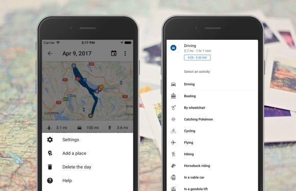 Met Google Maps Tijdlijn weet je precies waar je geweest bent