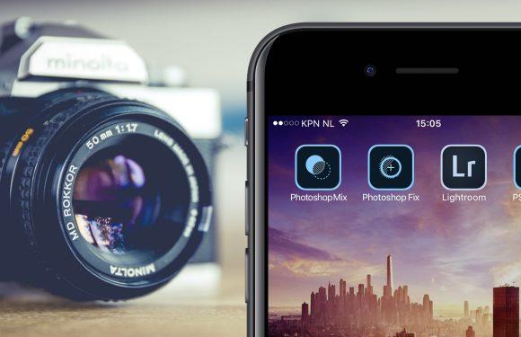de beste gratis photoshop apps voor je iphone en ipad. Black Bedroom Furniture Sets. Home Design Ideas