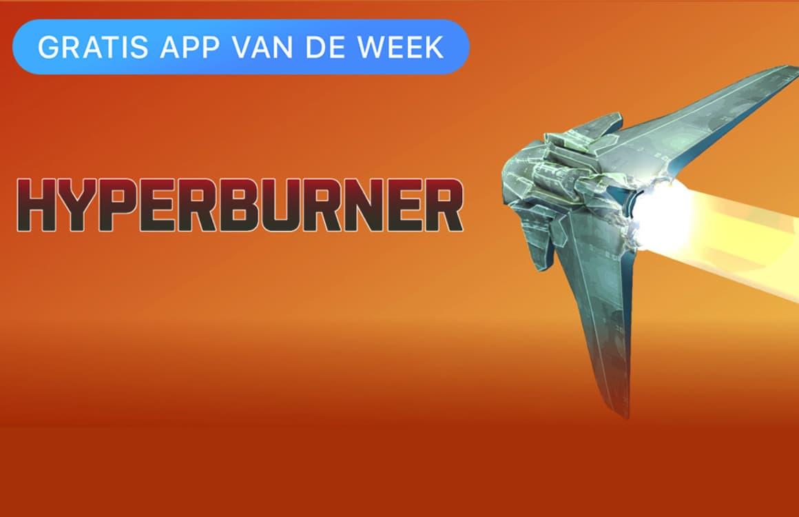 Futuristische racegame Hyperburner is Apples gratis App van de Week