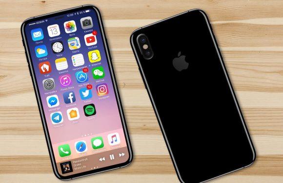 'iPhone 8-gezichtsherkenning werkt ook als toestel op tafel ligt'