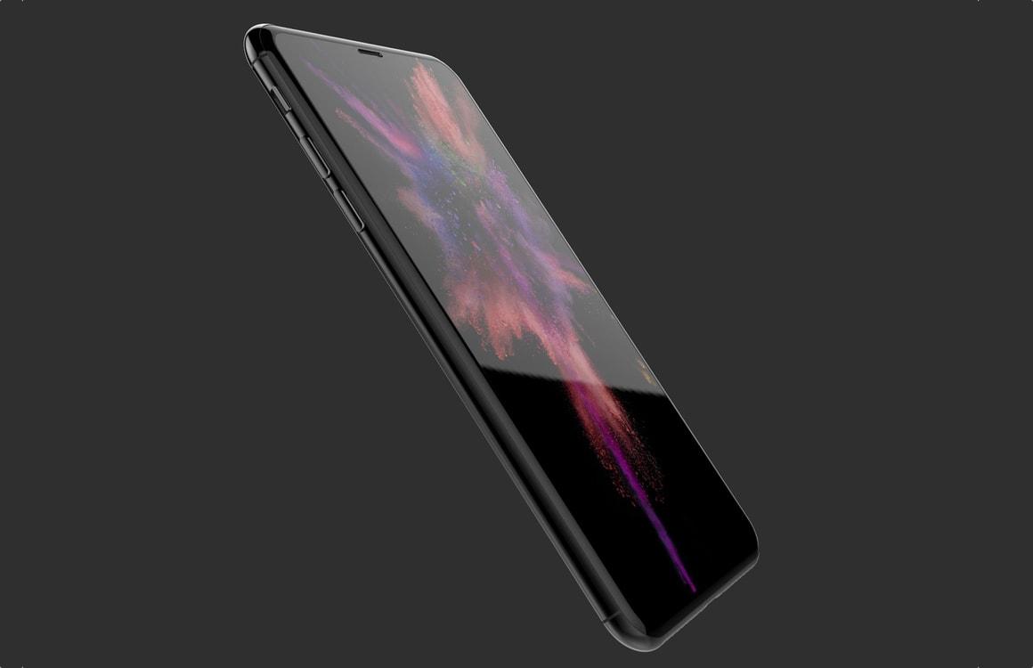 'iPhone 8 krijgt Galaxy S8-achtig scherm met randen aan onder- en bovenkant'