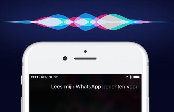 'Hé Siri, lees mijn WhatsApp-berichten voor!'