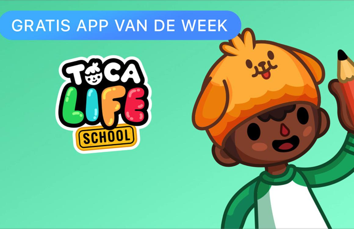 Kindergame Toca Life: School is Apples Gratis app van de week