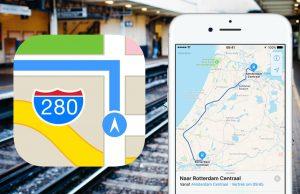 Apple Maps OV-info Nederland