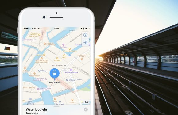 Apple Maps toont Nederlandse trein-, tram- en metrostations: ov-info op komst