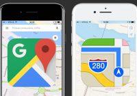 Apple Maps vs Google Maps: verdient Apples Kaarten-app een tweede kans?