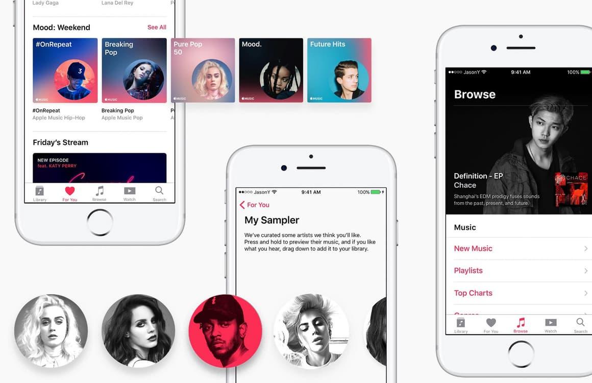 Concept toont hoe Apple Music verbeterd kan worden