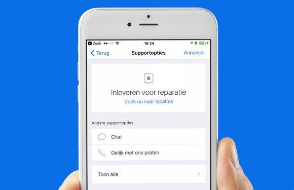 Met de Apple Support-app een reparatie inplannen: zo doe je dat