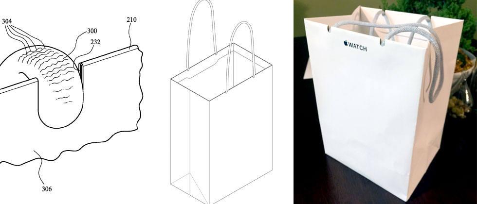 papieren apple store-tas