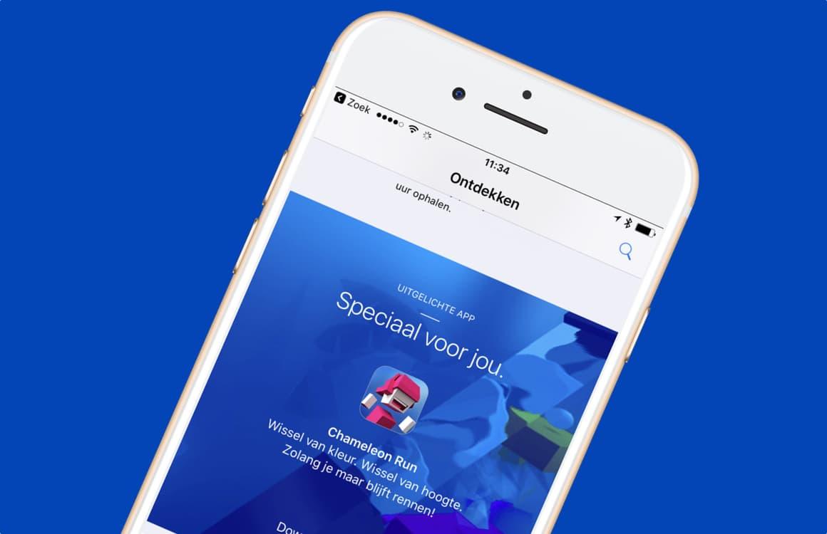Zo download je Chameleon Run gratis met de Apple Store-app