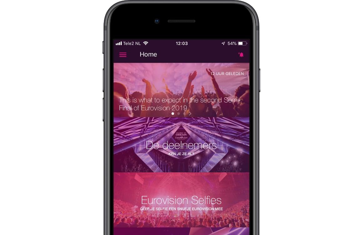 Eurovisie songfestival app