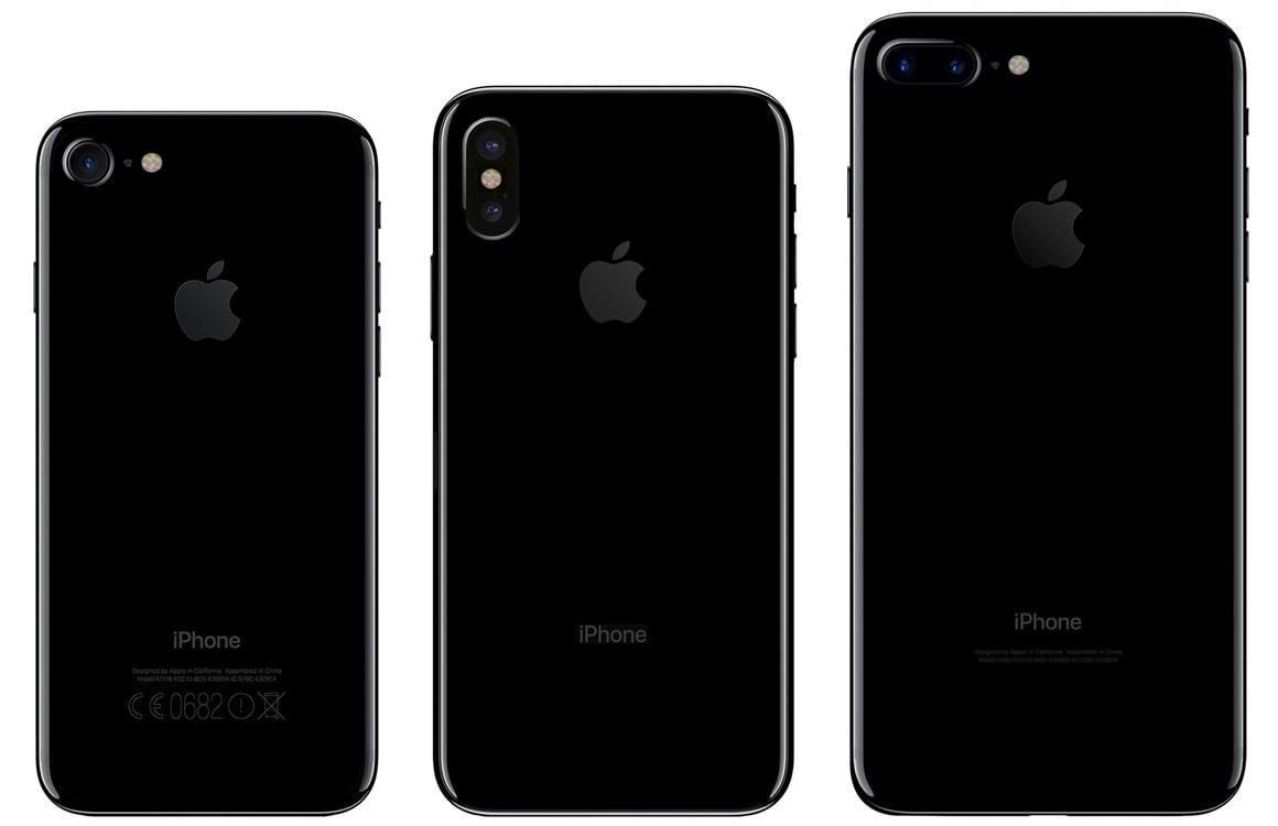 Ook iPhone-namen lekken uit: iPhone 8, 8 Plus en iPhone X